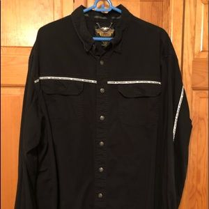 Men's Harley Davidson Reflective stripe shirt XXL